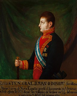 Juan ODonojú Spanish general and colonial governor