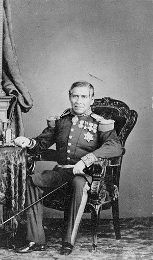Juan Almonte - Juan Almonte in full military regalia.