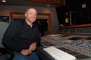 Julian King (recording engineer) - Julian King in the Studio