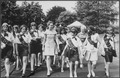 Julie Nixon Eisenhower with a group of Girl Scouts - NARA - 194641.tif