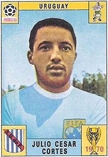 Julio César Cortés Uruguayan footballer and coach
