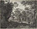 Julius Albert Elsasser - Eine Waldkapelle am Abend.jpg