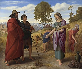 Moab - Ruth in the fields of Boaz by Julius Schnorr von Carolsfeld