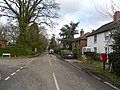 Junction of Peeks Brook Lane and Fernhill Road, Fernhill, Crawley.JPG
