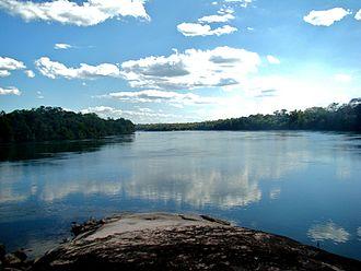 Juruena River - Image: Juruena River 2009