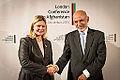 Justine Greening meets Afghan President Ashraf Ghani December 2014.jpg