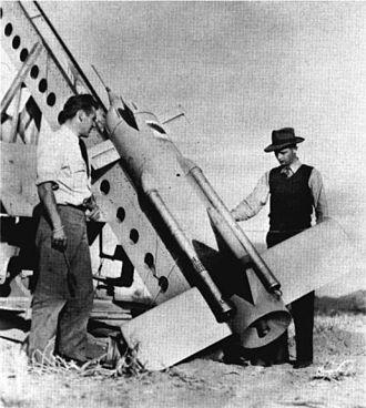 KAN Little Joe - A KAN-1 missile at Point Mugu.