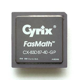 Cyrix - Cyrix FasMath