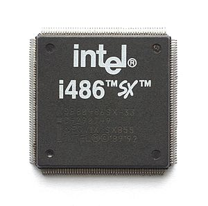 Intel 80486SX - Image: KL Intel i 486SX PQFP