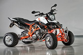 All-terrain vehicle - A KTM Quad 990 ATV