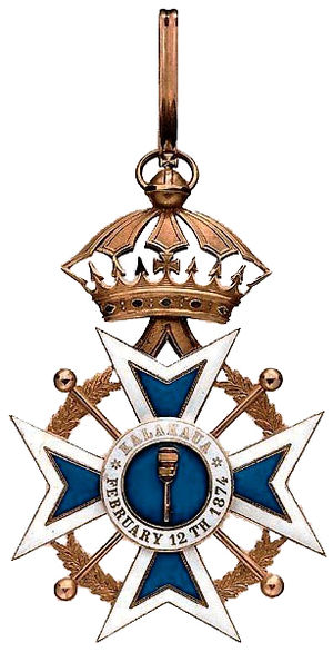 Royal Order of Kalākaua - Image: Kalakaua badge
