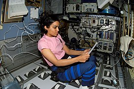 Kalpana workingSTS-107.jpg