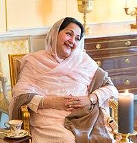 Kalsoom Nawaz Sharif - White House - 2013 (cropped).jpg