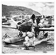Kamikawa Maru Aichi E13A seaplane