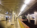 Kamiyacho station platforms - train - March 2 2018.jpg