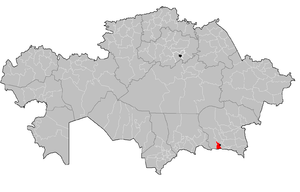 Karasay District - Image: Karasay District Kazakhstan