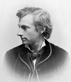 Karl Gjellerup omtrent 1890.
