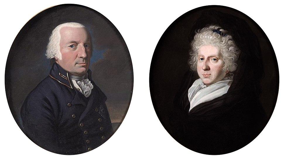 Karl Wilhelm Ferdinand II, Herzog von Braunschweig-Wolfenbüttel (1735-1806) and wife