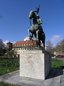 Baden Dragoon In A World War I Monument At Karlsruhe. While Almost An  Anachronism After The Early Stages Of That War, German Dragoons Did See  Continuing ...