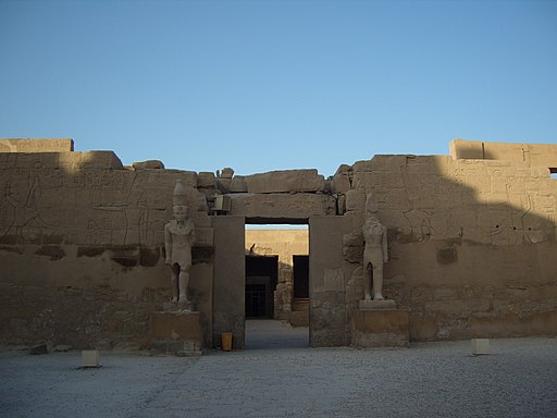 Karnak Ramses III temple