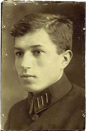 A high school portrait of Karol Kuryluk taken in 1928.