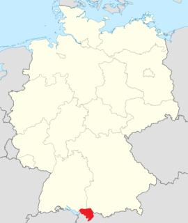 Allgäu southern German region in Swabia
