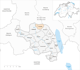 Teufenthal – Mappa