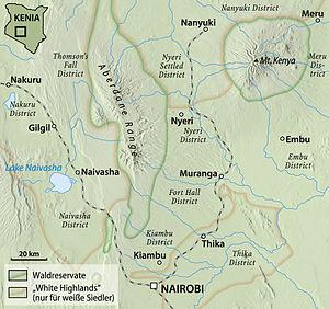Central Kenya 1952