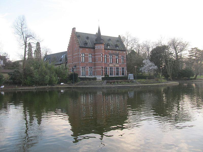 Castle Val Marie (Mariadal) in Zaventem, Flemish Brabant, Belgium.
