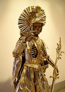 Catacomb saints type of christian relic