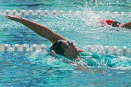 Kathleen Baker in 200m backstroke heat (34346570524).jpg