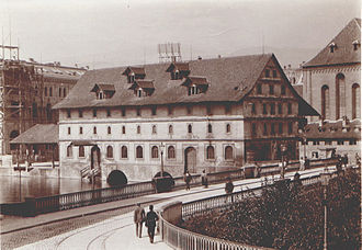 Granary - Former Granary in Zürich, Switzerland (1897)