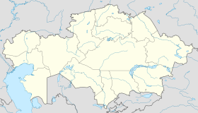Jezkazgan / Zhezkazgan is located in Kazakhstan