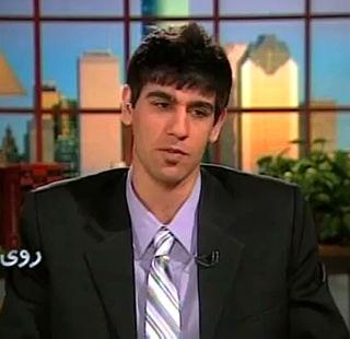 Iranian basketball player