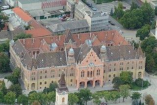 City Hall of Kecskemét city hall
