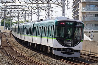 Keihan Main Line - Image: Keihan 13024