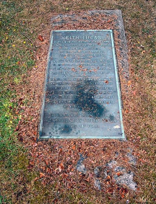 Keith Lucas Grave