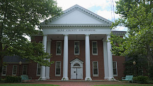 Chestertown, Maryland - Kent County Courthouse in Chestertown, Maryland.