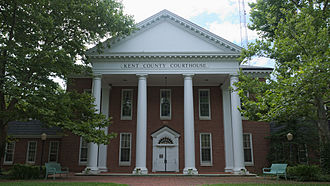 Chestertown, Maryland - Kent County Courthouse in Chestertown, MD.