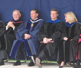 Cecil O. Samuelson - Image: Kerr graduation