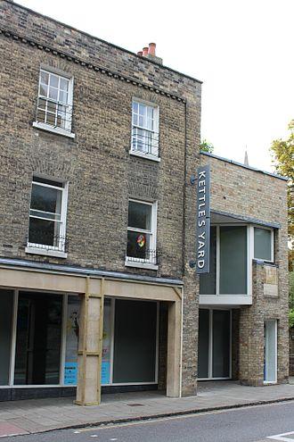 Kettle's Yard - The gallery extension beside Castle Street