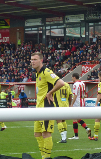 Kevin McDonald (footballer, born 1988) - McDonald playing for Sheffield United in 2013