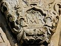 Key Stone Decoration over Portico of Alamo in San Antonio.jpg