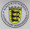 Kfz-Zulassungsplakette Bodenseekreis Schleifenmuster.jpg