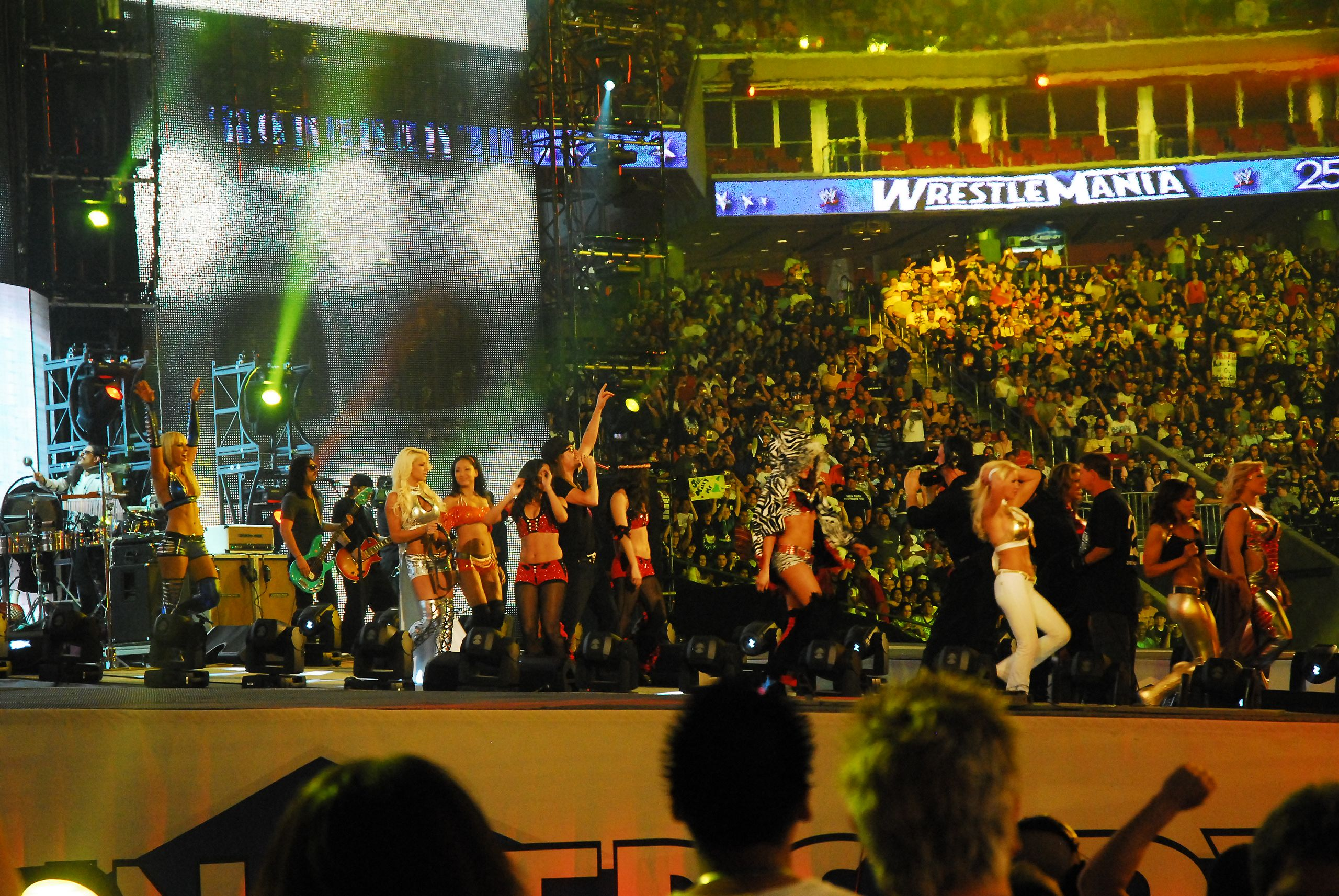 FileKid Rock and WWE Divas.jpg   Wikimedia Commons