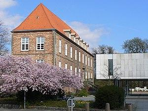 Kiel Castle - The preserved Rantzau building, a relict of the old Kiel Castle