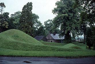 Kilwarlin Moravian Church - Zula's groundworks at Kilwarlin after Thermopylae