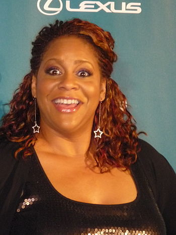 American actress Living Single star Kim Coles ...