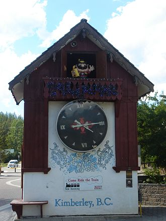 Kimberley, British Columbia - Kimberley Bavarian cuckoo clock.