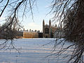 King's College Chapel in the snow - 1 - geograph.org.uk - 1623861.jpg
